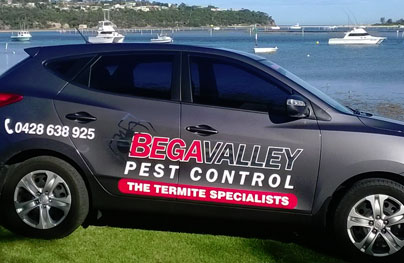 Contact Bega Valley Pest Control